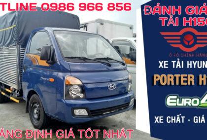 Chi tiết xe tải Hyundai H150
