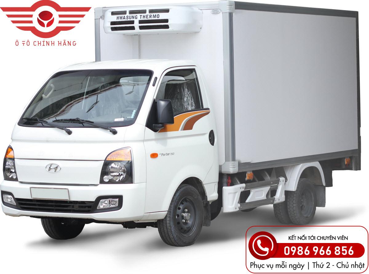 Xe tải Hyundai H150 Thùng Đông Lạnh