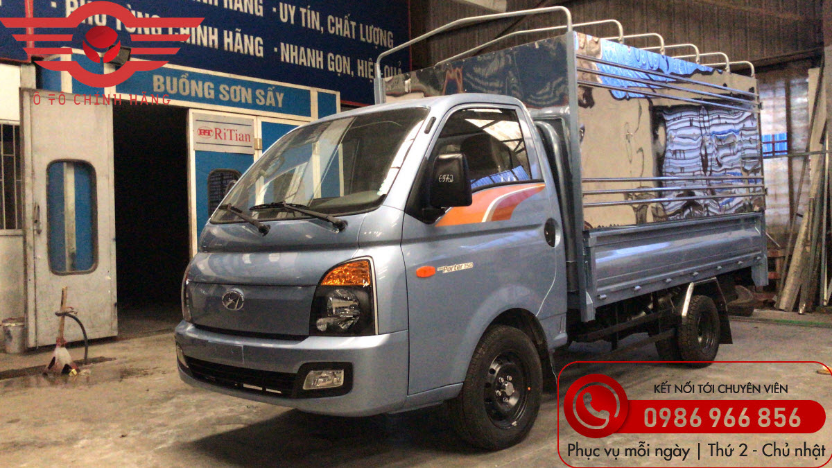 Xe tải Hyundai H150 Thùng Mui Bạt