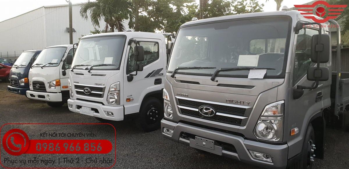 Báo giá Xe tải Hyundai Mighty EX8L Thùng Lửng
