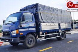 Xe tải Hyundai New Mighty 110SL Thùng Mui Bạt