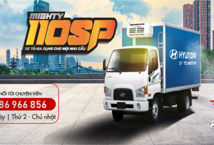 Báo giá xe tải Hyundai Mighty 110SP 7 Tấn