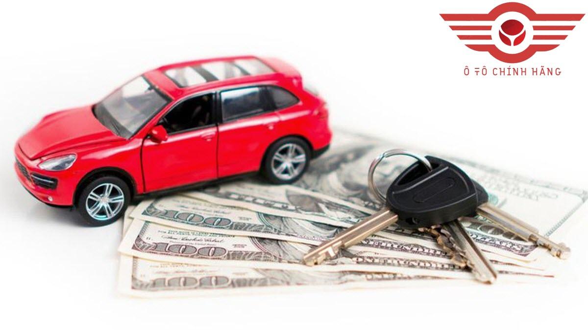 Bảng tính mua xe ô tô trả góp