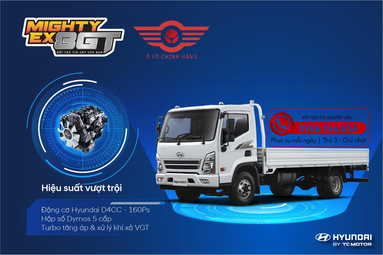 Xe tải Hyundai Mighty EX8 GTS2  7 Tấn