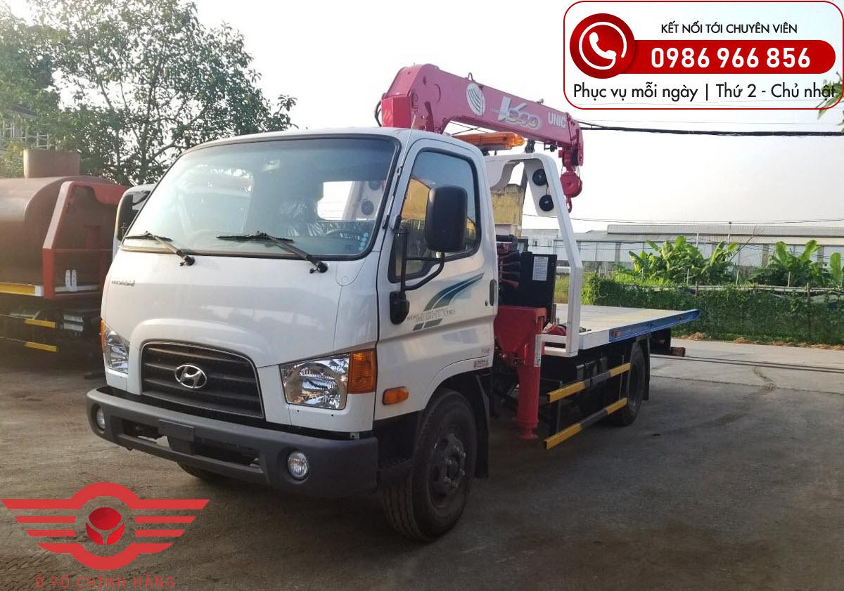 Xe tải Hyundai New Mighty 110SP Gắn Cẩu UNIC 3 Tấn