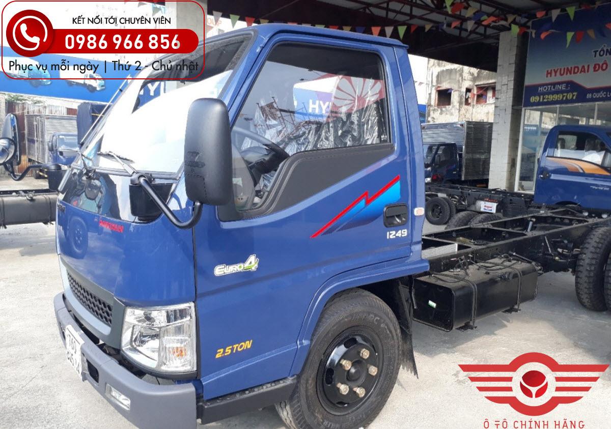 Xe tải Đô Thành IZ49 Euro4 2.5 Tấn
