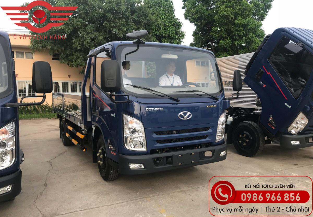Xe tải Đô Thành IZ65 Gold 2.5 Tấn