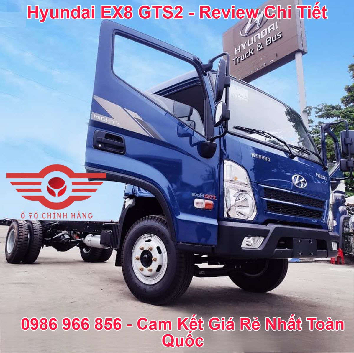 Báo giá xe tải Hyundai EX8 GTS2