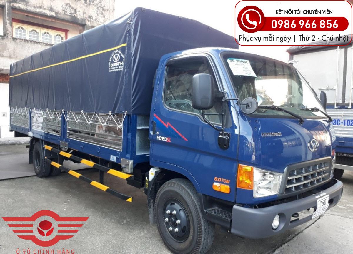 Xe tải Hyundai HD120SL 8 Tấn