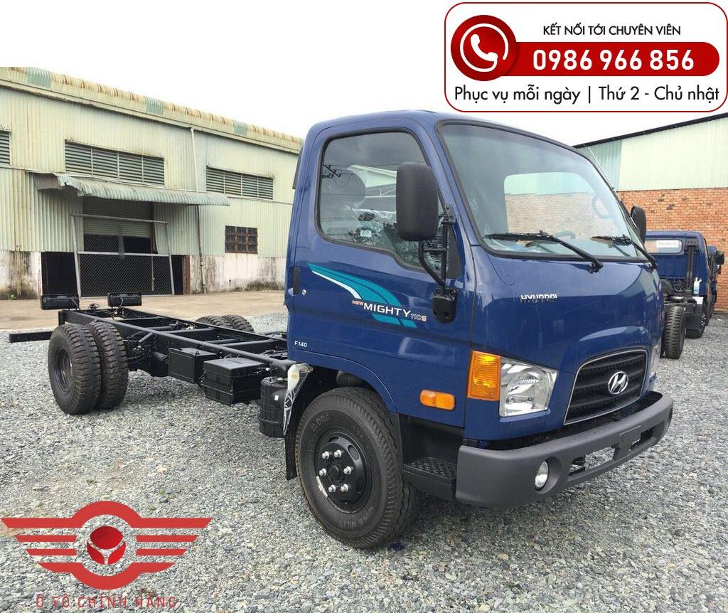 Xe tải Hyundai New Mighty 110XL 7 Tấn Thùng Dài 6m3