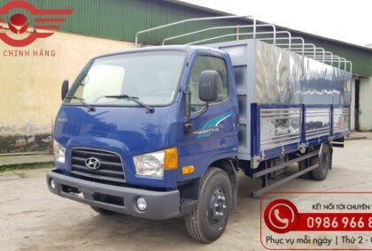 Báo giá xe tải Hyundai 110XL Thùng Bạt