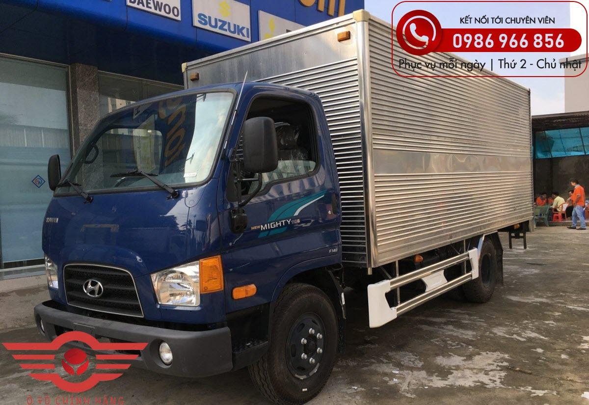 Xe tải Hyundai New Mighty 110XL Thùng Kín