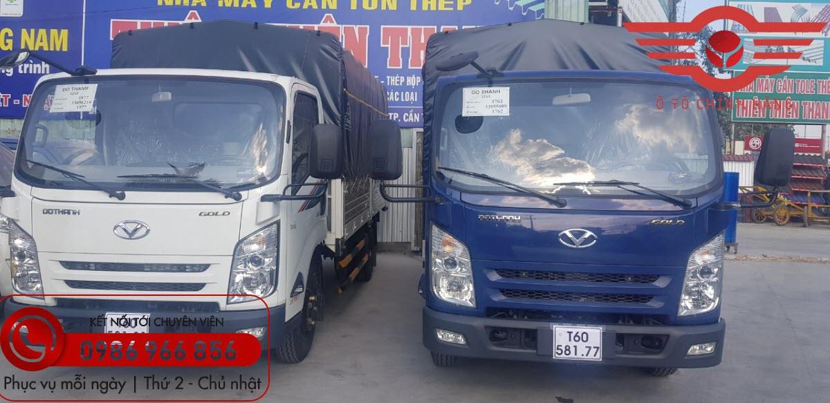 Xe tải Đô Thành IZ65 Gold 3.5 Tấn Nâng Tải