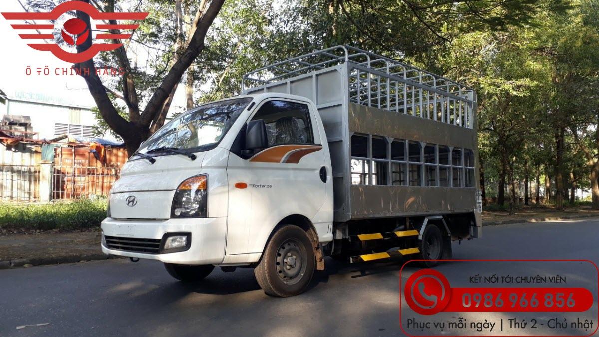 Xe tải Hyundai H150 Chở Gia Súc