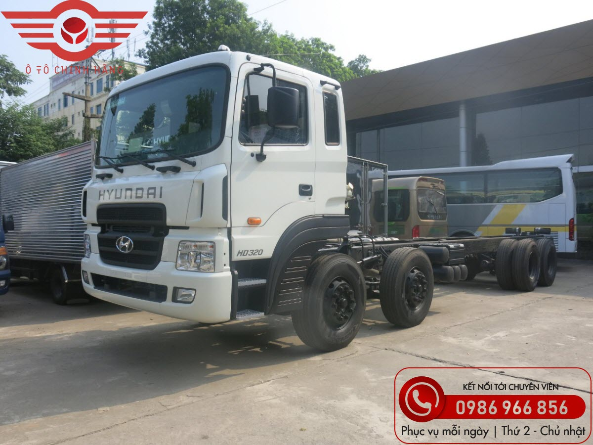Xe tải Hyundai HD320 19 Tấn Euro4 Nhập Khẩu