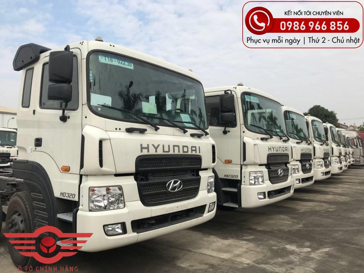 Xe tải Hyundai HD320 Thùng