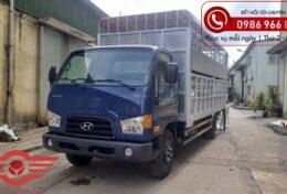 Xe tải Hyundai Mighty 110XL Chở Lợn 2 Tầng